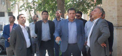 بازدید اعضای شورای شهر و شهردار رودهن از پروژه های عمرانی سطح شهر