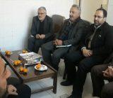 دیداراعضای شورای شهر رودهن بانماینده محترم مجلس شورای اسلامی شهرستان