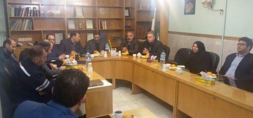 جلسه رسمی شورای شهر رودهن در روز سه شنبه ششم دیماه با حضور ریاست اداره برق شهر رودهن برگزار گردید.