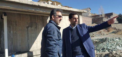 بازدید رئیس شورای شهررودهن و رئیس آب و فاضلاب رودهن از پروژه های عمرانی آب و فاضلاب رودهن