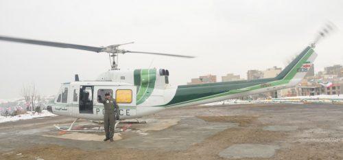 افتتاح پد هلیکوپتر و پارک بادی در رودهن