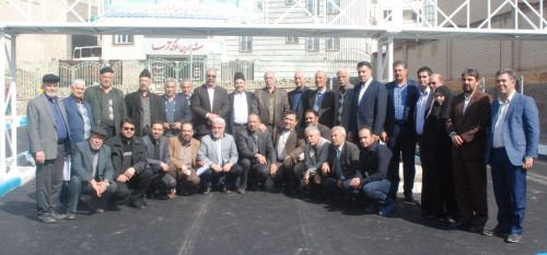 بازدید پروژه های عمرانی سطح شهر شهرداری رودهن با حضور معتمدین و شهروندان
