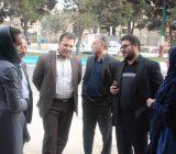 بازدید اعضای شورای شهر و مهندس کچویی شهردار از نمایشگاه هنرهای دستی شهر رودهن