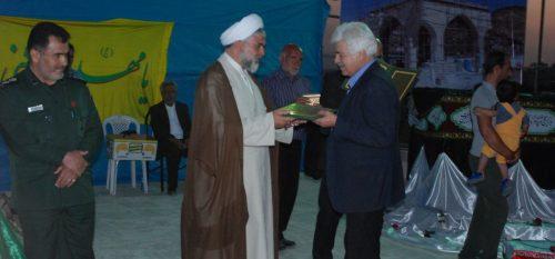 برگزاری مراسم دعای عرفه و یادواره شهدای گمنام شهر رودهن