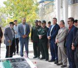 افتتاح گلزار شهداي سادت محله