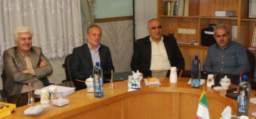 دیدار اعضای شورای اسلامی شهر رودهن با اعضای شورای اسلامی شهر آبعلی