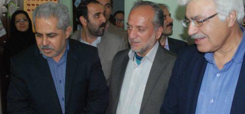بازديد اعضاي شوراي اسلامي شهر رودهن از مدرسه هموطن به مناسبت برگزاري جشنواره اقوام ايراني