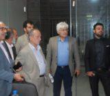 بازديد اعضاي شوراي اسلامي شهر و مهندس كچويي شهردار از صندوق امام حسن مجتبي(ع)